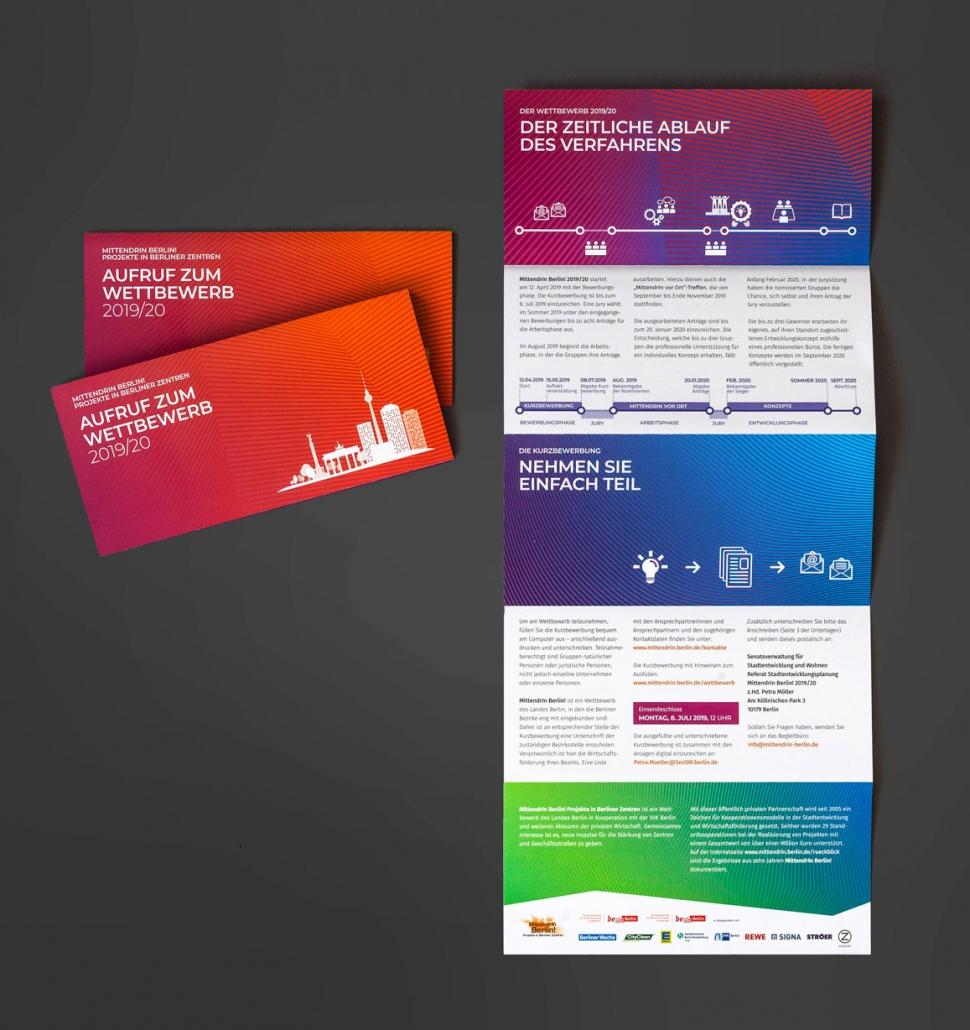 Corporate Design – Mittendrin Berlin 2019/2020
