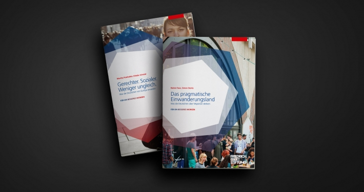 """Friedrich-Ebert-Stiftung – Publikationsdesign """"Für ein besseres Morgen"""""""