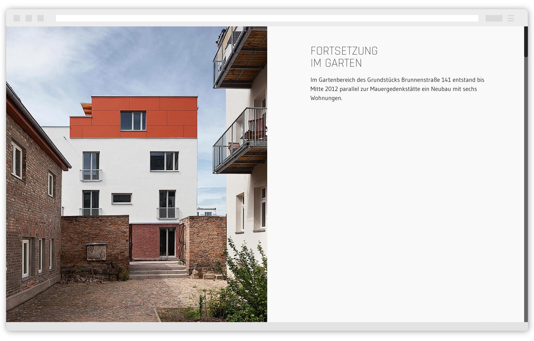 Webdesign Brunnenstraße 141a