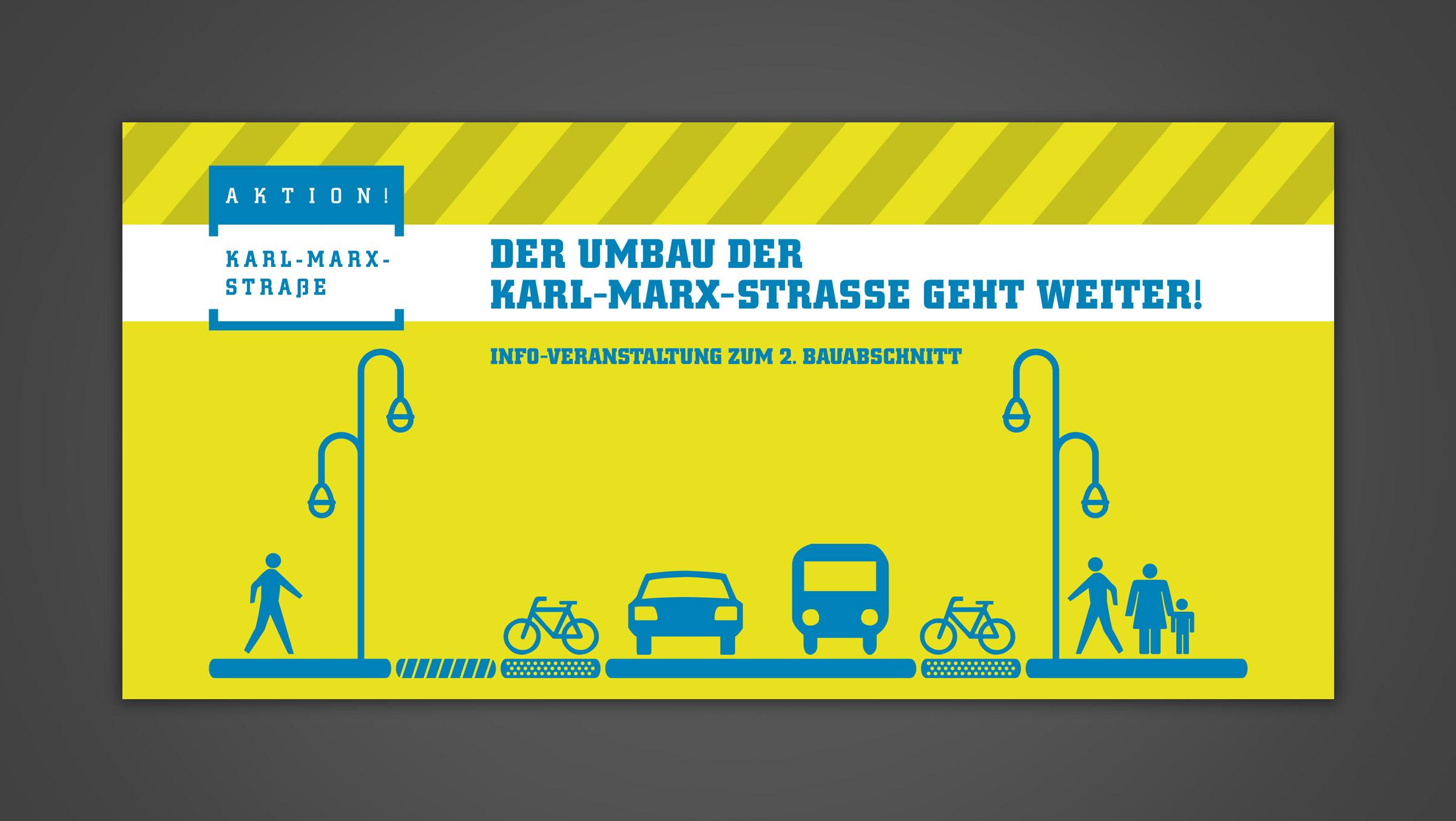 Öffentlichkeitsarbeit Sanierungsgebiet Karl-Marx-Straße/Sonnenallee
