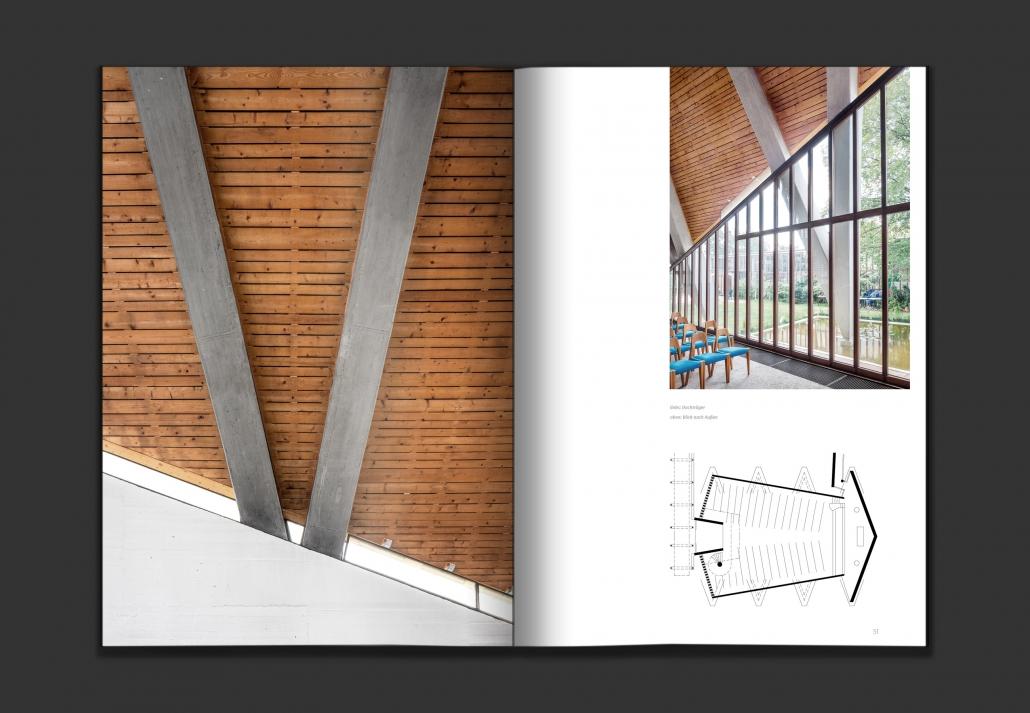 Beton und Glaube – Kirchen der Nachkriegsmoderne – Editorialdesign